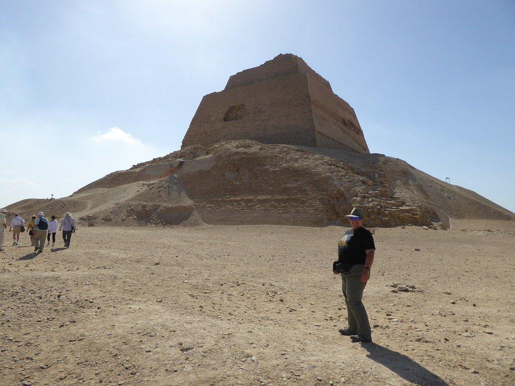 The pyramids of Meidum